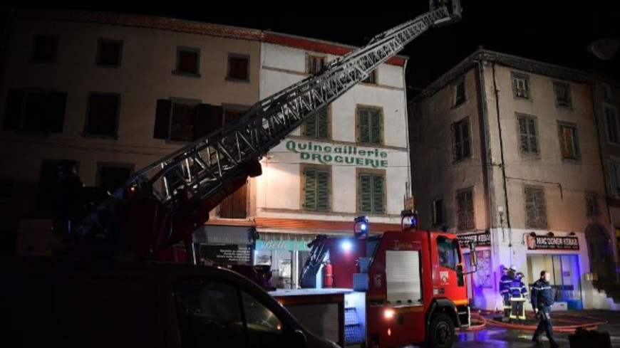 Champeix : Un homme meurt dans l'incendie de son appartement.