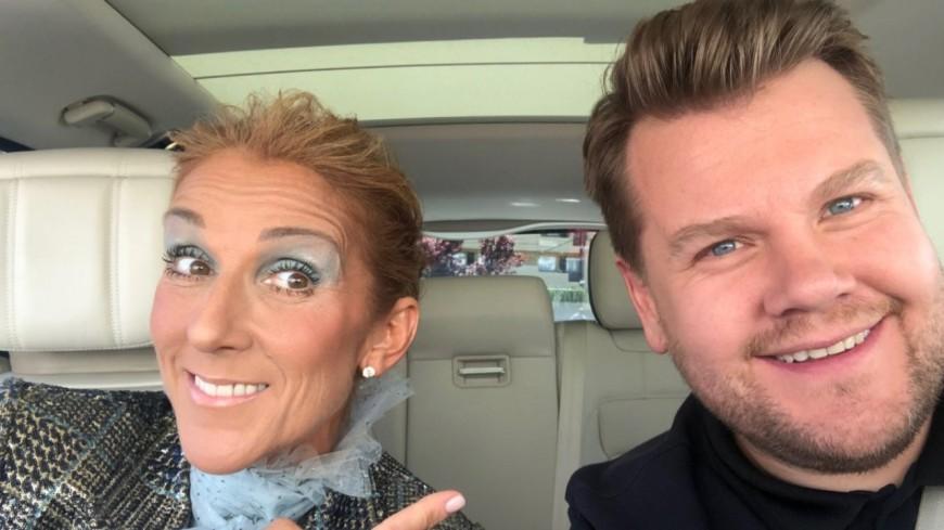 Céline Dion bientôt dans le Carpool Karaoke de James Corden