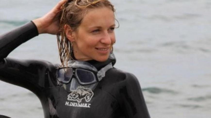 La clermontoise Alice Modolo établit un nouveau record de France de plongée en apnée