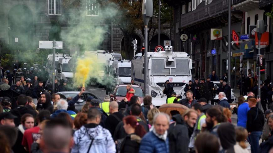 La manifestation des Gilets jaunes de samedi à Clermont-Ferrand