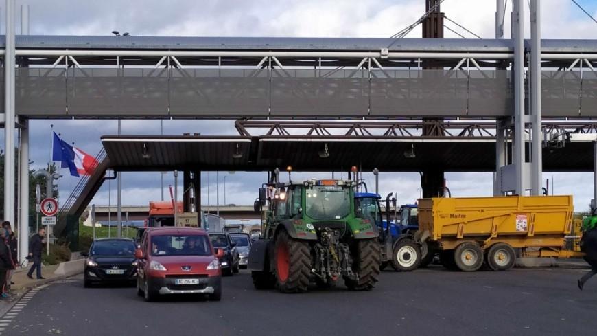 La colère des agriculteurs se fait sentir à Clermont-Ferrand