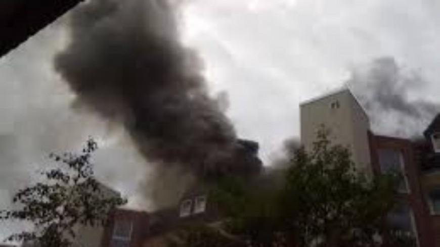 Clermont-Ferrand : un appartement ravagé par le feu