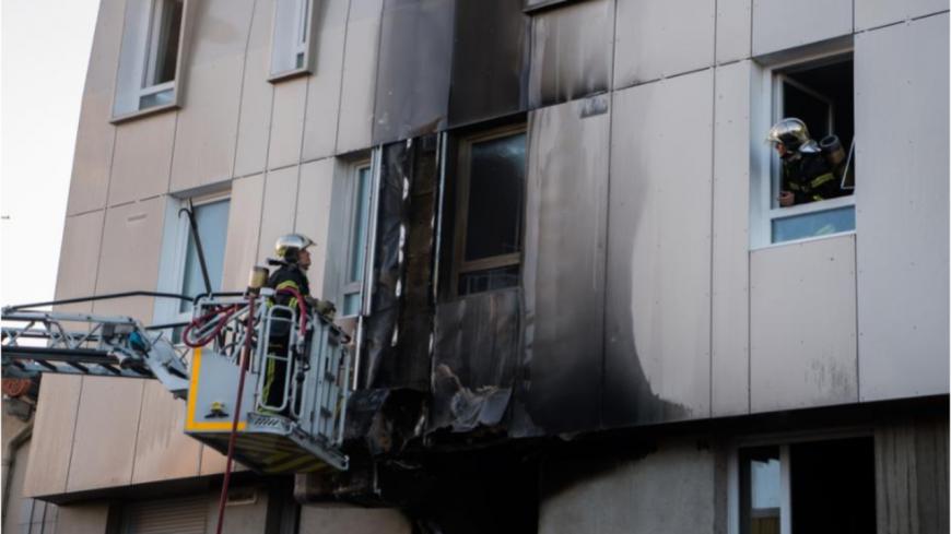 Clermont-Ferrand : un appartement prend feu