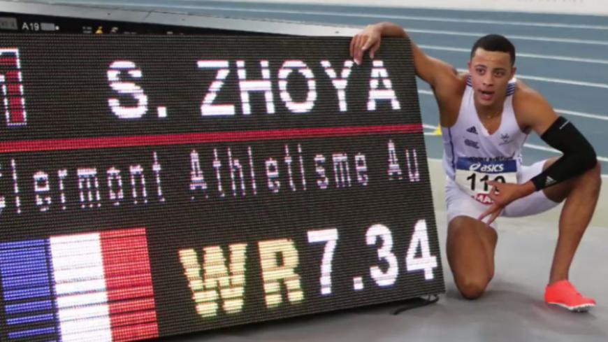 Le record du monde du 60 m haies battu par un jeune Clermontois