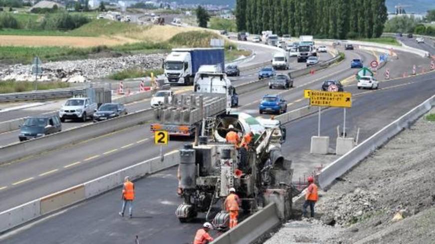 Au Sud de Clermont-Ferrand, de nouveaux travaux et des fermetures sur l'A75