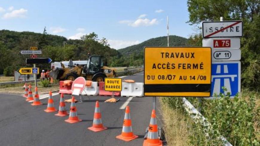 Clermont-Ferrand : fermeture de l'A75 ce 28 août