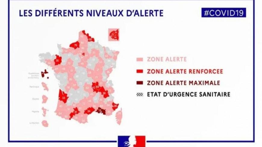 """Les départements du Puy-de-Dôme et de la Haute-Loire placés en """"zone alerte"""""""