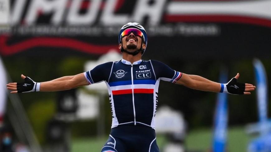 Cyclisme sur route : Julian Alaphilippe est champion du monde