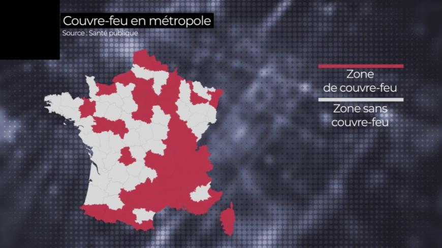 Le couvre-feu dans le Puy-de-Dôme s'appliquera à toutes les communes du département sans exception