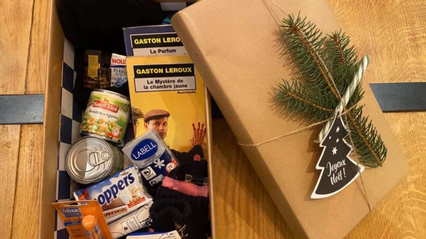 """L'opération solidaire """"Boîtes de Noël"""" pour venir en aide aux plus pauvres"""