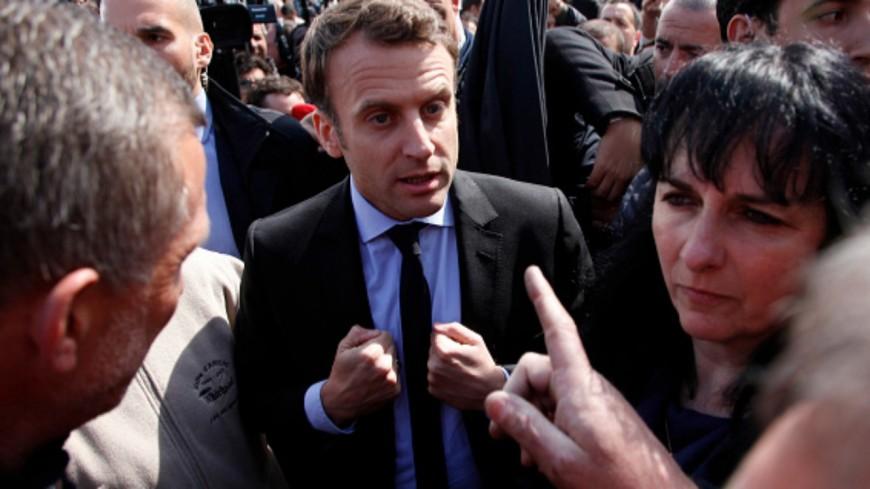 Emmanuel Macron, giflé par un citoyen ce 8 juin