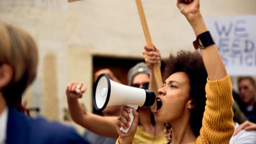 Manifestation anti pass sanitaire à Clermont-Ferrand