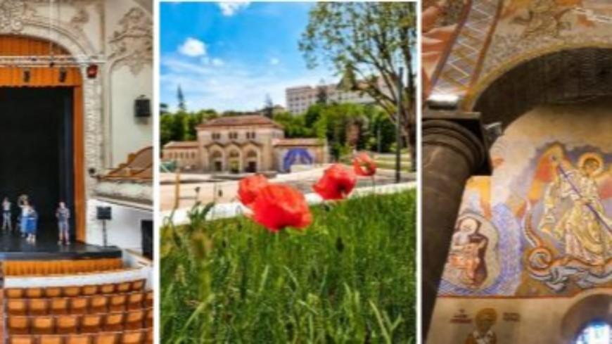 Du Thermal Express aux fresques de l'Eglise Sainte-Anne : Rendez-vous aux Journées Européennes du Patrimoine 2021