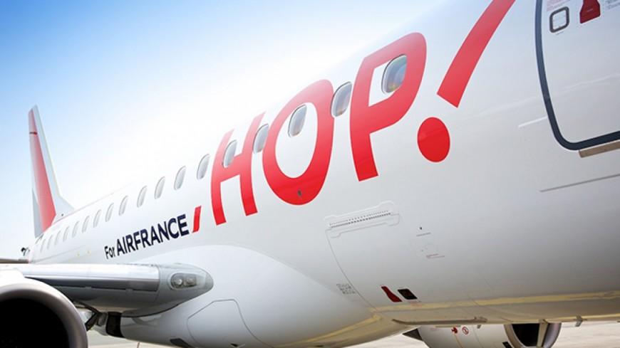 Vacances : Une grève chez Hop ! et des vols annulés en Auvergne