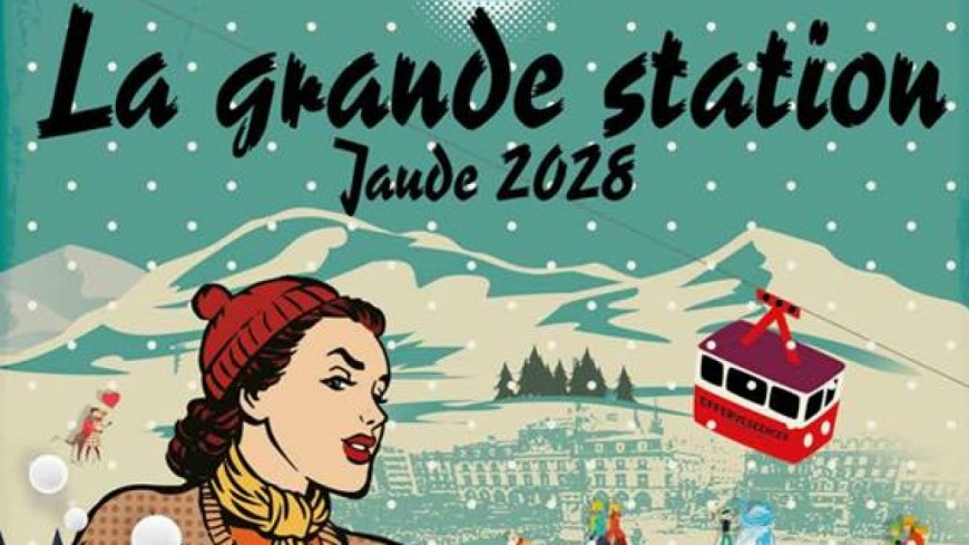 Clermont-Ferrand : une station de ski sur la place de Jaude