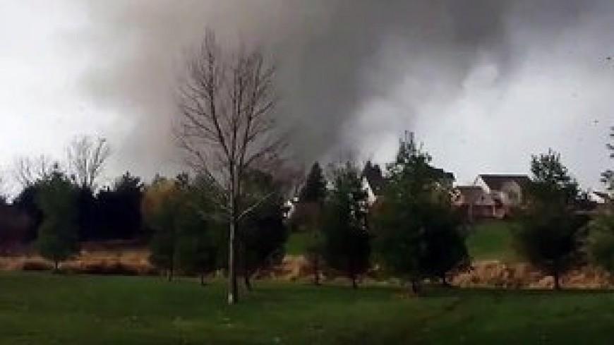 Puy-de-Dôme : Une tornade fait s'effondrer une habitation