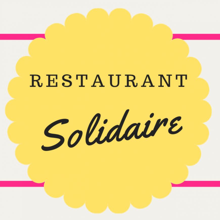 """RESTAURANT SOLIDAIRE ISSOIRE : """"on cuisine des plats pour tout le monde, à prix libre et avec des produits invendus"""""""