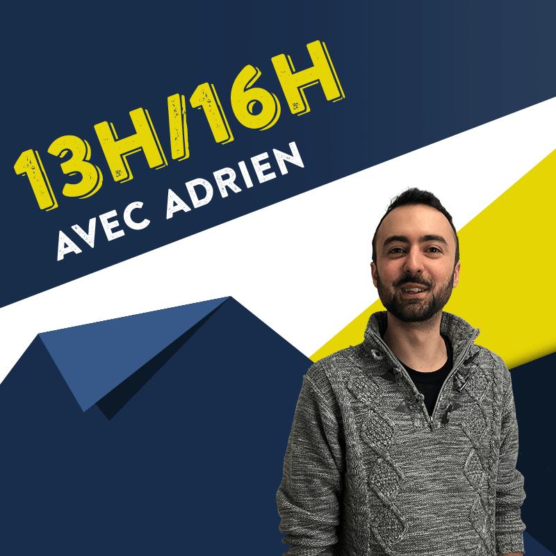Le  13/16 avec Adrien