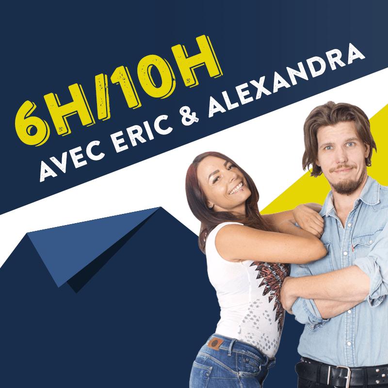 Le Réveil avec Eric et Alexandra