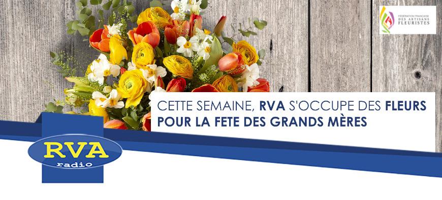 RVA vous offre un bouquet de fleurs