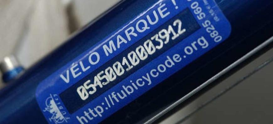 Clermont-Ferrand : les vélos sont marqués contre le vol