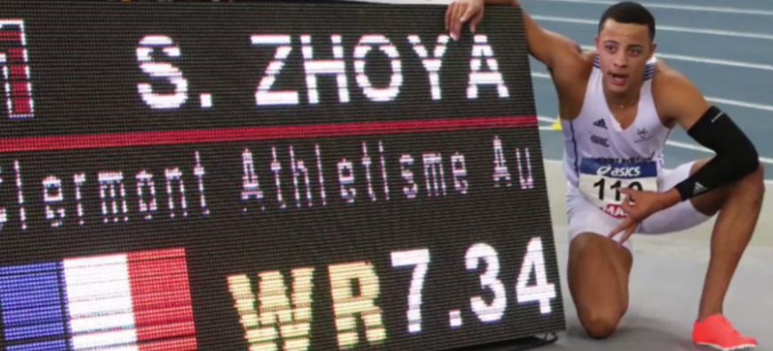 Record du monde du 60 m haies battu par un Clermontois