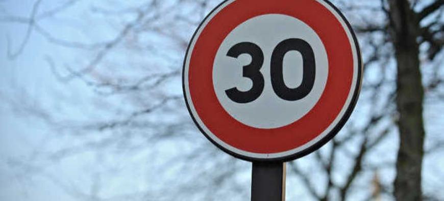 Clermont-Ferrand - La vitesse maximale en ville passe à 30 km/h