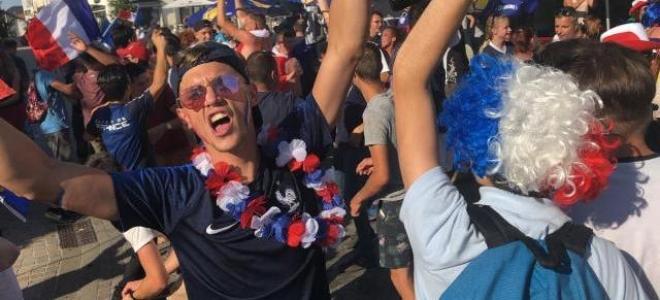 Clermont-Ferrand : Les festivités d'après-match dans le centre ville