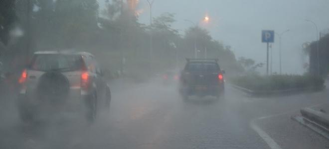 Orage impressionnant à Brioude le vendredi 17 août.